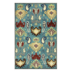 "Kas Rugs - Kas Tapestry 6811 Blue 3'3"" x 5'3"" Area Rugs - Kas Tapestry 6811 Blue 3'3"" x 5'3"" Area Rugs"