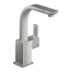 Moen - Moen S5170CSL Single Handle High Arc Bar Faucet - With its ultra-contemporary styling, the 90 Degree collection brings a sharp, clean look to the home.