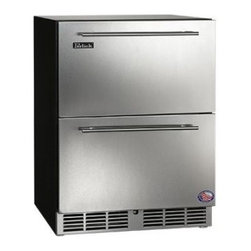 """Perlick - HA24FB5 24""""  4.8 cu. ft. Capacity ADA Compliant  Built-In Counter Depth  Stainle - The 24 ADA-Compliant Freezer by Perlick is designed to stand 32 high for maximum capacity while still adhering to ADA regulations Featuring stainless steel interior and Perlick39s RAPIDcool Refrigeration system this unit is suitable for a variety of ..."""