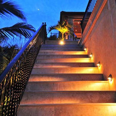 Tropical Outdoor Lighting by Randy Greenhill