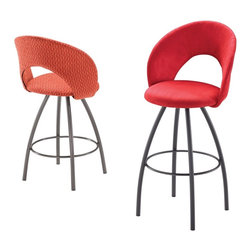 Trica - Trica Biscotti Swivel Bar Stool - *Available in counter, bar or spectator height