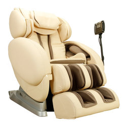 Infinity - Infinity Zero Gravity Massage Chair - Ivory - This chair truly delivers one of the most advanced massage technologies available today. One of the greatest chairs on the market the Infinity IT-8500 is designed to offer state of the art features and techniques that set it apart from the rest. Offering the ultimate customizable & targeted massage, equipped with music, lumbar heat, body scan sensors, state of the art foot rollers, spinal correction & decompression, the list only continues. Experience and feel the difference in one of the most advanced massage chairs today.