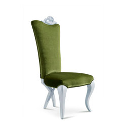 Chloe Luxury Modern Velvet Chair -