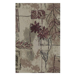 Blazing Needles - Blazing Needles S/5 Tapestry Futon Cover Package in Japanese Garden - Blazing Needles - Futon Covers - 9680/T59 - Blazing Needles Designs has been known as one of the oldest indoor and outdoor cushions manufacturers in the United States for over 23 years.