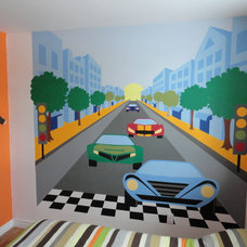 Contemporary Kids Wall Decor by Elephants on the Wall
