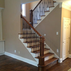 Traditional Staircase by HP Design Build