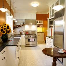 Eclectic Kitchen by Michele Kellett Interiors