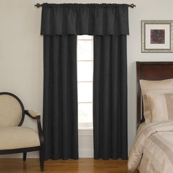 None - Sound Asleep Room-Darkening Black Curtain Collection - The Sound Asleep Room-Darkening curtains are the ultimate blend of fashion,function and design. They are developed to address the National Sleep Foundation's recommendations for optimal sleep health.