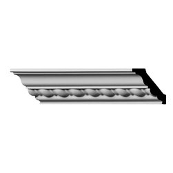 "Ekena Millwork - 1 7/8""H x 1 7/8""P x 2 3/4""F x 96""L, (1"" Repeat) Classic Roped Crown Moulding - 1 7/8""H x 1 7/8""P x 2 3/4""F x 96""L, (1"" Repeat) Classic Roped Crown Moulding. Our beautiful panel moulding and corners add a decorative, historic feel to walls, ceilings and furniture pieces- They are made from a high-density urethane which gives each piece the unique details that mimic that of traditional plasting and wood designs but at a fraction of the weight- This means a simple and easy installation for you- The best part is that you can make your own shapes and sizes by simply cutting the moulding pieces down to size and then butting them up to the decorative corners- These are also commonly used for an inexpensive wainscot look-Features- Modeled after original historical patterns and designs-- Constructed from solid urethane for maximum durability and detail-- Lightweight for quick and easy installation-- Factory-primed and ready for paint or faux finish-- Can be cut, drilled, glued and screwed-- Designed for use on both interior and exterior applications-- Material- Urethane"