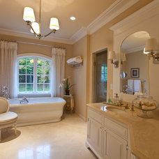 Transitional Bathroom by AGS Builders Inc.