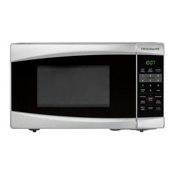 Frigidaire - Frigidaire 0.7 Cu. Ft. Stainless Steel Countertop Microwave - This versatile countertop microwave makes a useful addition to any kitchen environment. Durably crafted from stainless steel,and featuring a compact space-saving design,this microwave provides a more convenient way to reheat food and prepare meals.