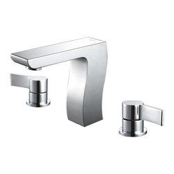 Kraus - Kraus Sonus Three-hole Basin Faucet Chrome - *It takes vision and creativity to design a masterpiece