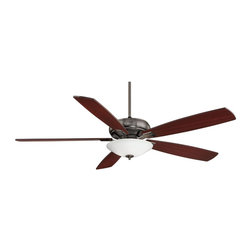 "Savoy House - Savoy House 68-227-5HK-187 The Wind Star 68"" Ceiling Fan - This eye-catching Salon Fan has a 68"" blade sweep to add a beautiful touch to today's larger rooms. The lustrous Brushed Pewter finish is elegant and perfectly complemented by Hickory blades."