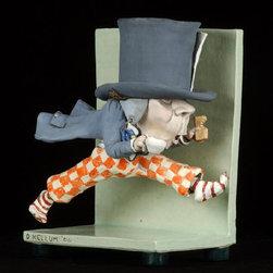 Alice In Wonderland Series of Clay Sculptures - A series of 7 clay sculptures by Dave Kellum based on the illustrations of Alice's Adventures In Wonderland.