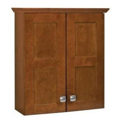 RSI Home Products - RSI Home Products Artisan 20 in. Bath Storage Cabinet, Chestnut (TTARTY-CHT) - RSI Home Products TTARTY-CHT Artisan 20 in. Bath Storage Cabinet, Chestnut