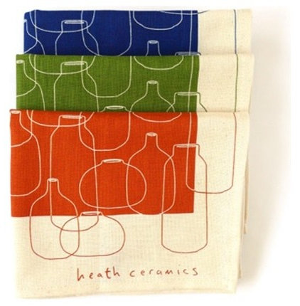 Contemporary Dishtowels by Heath Ceramics