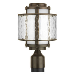 Progress Lighting - Bay Court 1-lt Outdoor Post Top Lantern - Bay Court 1-lt Outdoor Post Top Lantern