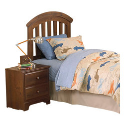 Standard Furniture - Standard Furniture Parker 2-Piece Kids Headboard Bedroom Set - Parker bedroom offers the perfect solution for rooms that have a smaller footprint, yet still need lots of storage.