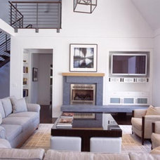Contemporary Living Room by Austin Patterson Disston Architects