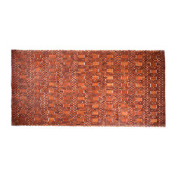 Entryways - Mills Exotic Wood Rug - Natural 36 x 71 - Crafted of exotic wood, this handsome mat will add an elegant touch to any home. It is from Entryways Exotic Woods collection and meets the industry's highest standards. This design combines natural beauty and durability with surprising affordability.