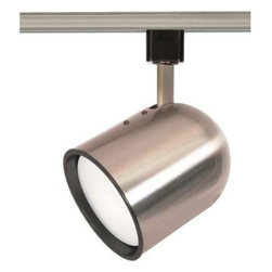 Glomar - Glomar 1-Light CFL R30 Brushed Nickel Track Head Bullet Cylinder HD-TH367 - Shop for Lighting & Fans at The Home Depot. With its bullet cylinder design this track head is stylish yet practical. This track head finds itself at home in many applications. This track head uses (1) r30 15w/gu24 base bulb (included). This track head is beautifully finished in Brushed Nickel.