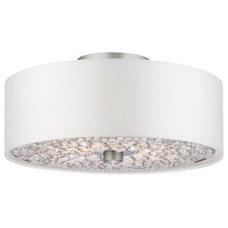 Bathroom Lighting And Vanity Lighting Pavo Semi-Flushmount by Forecast