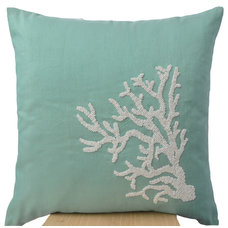 Beach Style Decorative Pillows by Amore Beaute