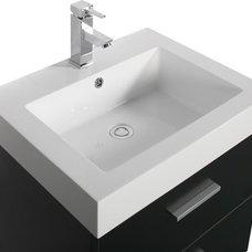 Modern Bathroom Vanities And Sink Consoles Zino 575mm basin