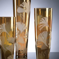 eclectic vases by Burke Decor