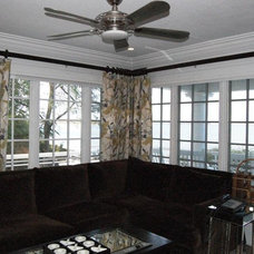 Traditional Window Treatments by Shades IN Place