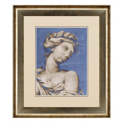 Paragon - Sculptural Renaissance I - Framed Art - Each product is custom made upon order so there might be small variations from the picture displayed. No two pieces are exactly alike.