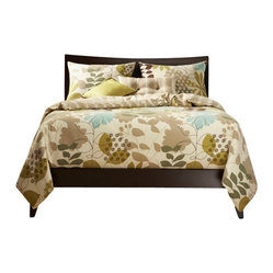 English Garden Duvet Set, Twin