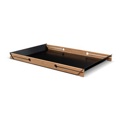 We Do Wood - We Do Wood Sheet Tray - Made of bamboo and steel, Sheet Tray is a simple and functional tray. Sheet Tray is an addition to We Do Wood's range of small furniture, a category which already contains the coat rack Scoreboard from 2013. With this product We Do Wood continues the clear design lines from the existing range of bamboo furniture.