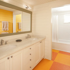traditional bathroom by Whitten Architects