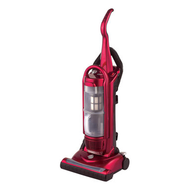 Sunpentown - Bagless Upright Vacuum Cleaner - SPT bagless upright vacuum offers a strong suction power with no messy bags to clean. Features HEPA filtration to capture dust, pollen and allergen. Long 26.25ft power cord and onboard tools allow easy wall-to-wall cleaning.