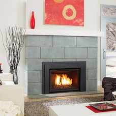 Modern Indoor Fireplaces by Regency Fireplace Products