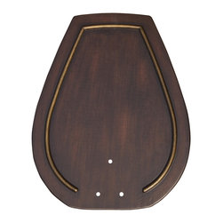 """Emerson - Emerson B93VBL 18"""" Hand Carved Paddle Blades - Compatible with Fans: CF3300, CF3600"""
