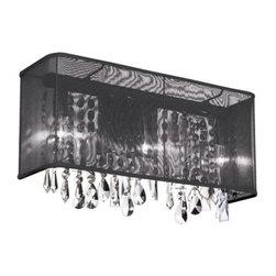 Dainolite - Dainolite 85310W-120607-115 Bohemian 2 Light Wall Sconce - Features: