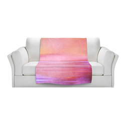 DiaNoche Designs - Throw Blanket Fleece - Infusion of Color II - Original Artwork printed to an ultra soft fleece Blanket for a unique look and feel of your living room couch or bedroom space.  DiaNoche Designs uses images from artists all over the world to create Illuminated art, Canvas Art, Sheets, Pillows, Duvets, Blankets and many other items that you can print to.  Every purchase supports an artist!