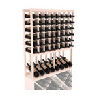 Wine Racks America - High Reveal Wine Rack Display in Pine, White Wash Stain + Satin Finish - A highly decorative wine rack with all the elegance and functionality a wine enthusiast could want. Emphasize your favorite wine bottles with display rows and capture onlookers with dramatic lighting assemblies. The full beauty of this rack is maximized paired with any member from our wine rack family.