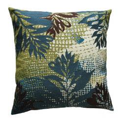 Leaves Pillow, Jungle