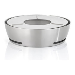 Blomus - Copo Single Ring Hot Plate - You can take the heat. In fact, with this Copo hotplate, you can actually move it anywhere you like, sans electrical outlet. Just light the tea light candle and your dishes are guaranteed a warm reception.
