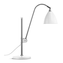 Bestlite - Bestlite BL1 Table Lamp - Crafted from powder-coated aluminum and chromed metal and marked by elegant modern lines, this Robert Dudley Best–designed lamp is a classic. Give it pride of place in your home office and you'll be in good company — Winston Churchill had one on his desk too.