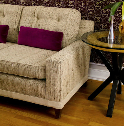 Contemporary  by Upholstery Club's Shelly Leer