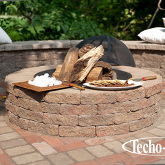 traditional firepits by Techo-Bloc