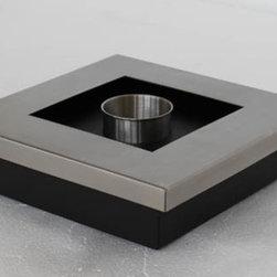 "Adena - Modern Ventless Table Top Ethanol Fireplace - "" ADENA ""  Table Top Ventless Ethanol Fireplace"