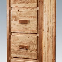 Rustic Filing Cabinets: Find Vertical and Lateral File Cabinet Designs ...
