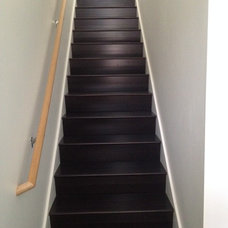 Contemporary Staircase by simpleFLOORS