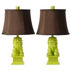 Eclectic Table Lamps by Zinc Door