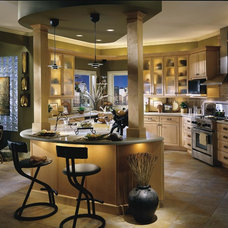 Contemporary Kitchen Cabinetry by Parrish & Company, Inc.